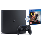 PS4 CONSOLE 500GB F CHASSIS SLIM BLACK + GIOCO NIOH 2