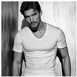 Maglia intimo uomo T-Shirt scollo a V puro cotone pettinato tg 6 o XL colore bianco Enrico Coveri