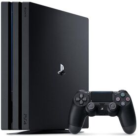 PS4 CONSOLE 1TB PRO GAMMA BLACK PLAY STATION 4