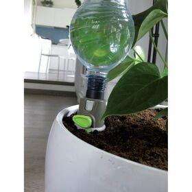 Irrigatore a goccia porta bottiglia per piante in vaso AQUAFLORA HOLIDAY regolabile