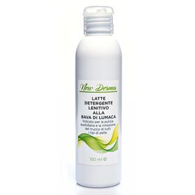 Latte detergente lenitivo alla bava di lumaca New Derma 150 ml