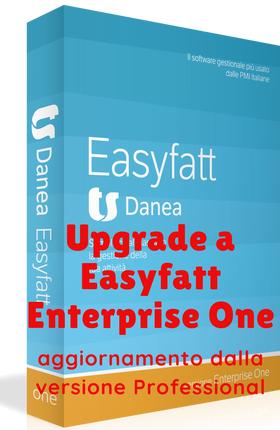 """Upgrade a Danea Easyfatt Enterprise One 2021 - aggiornamento da """"Professional"""""""